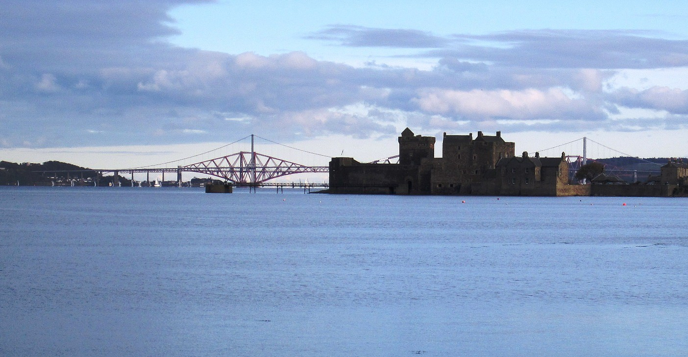 Blackness Castle and Forth Bridges